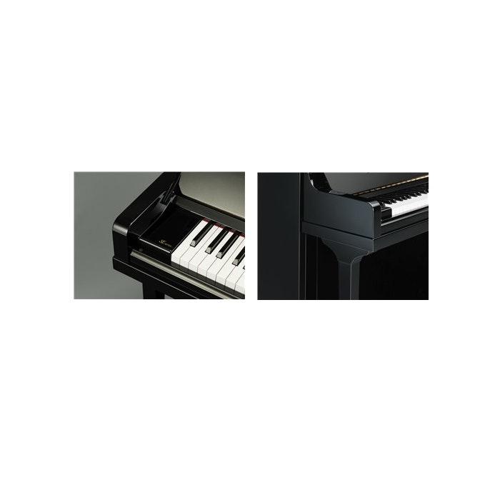Yamaha SE132 PE messing piano (zwart hoogglans)