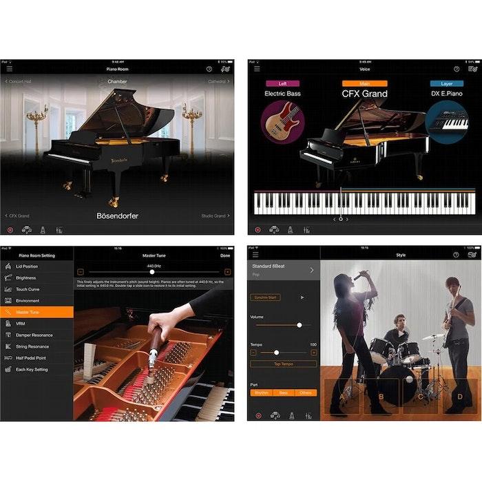 Yamaha Clavinova CLP-745 WH digitale piano