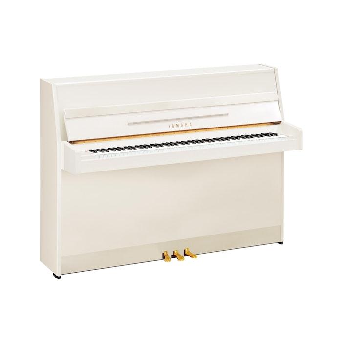 Yamaha B1 PWH messing piano (wit hoogglans)