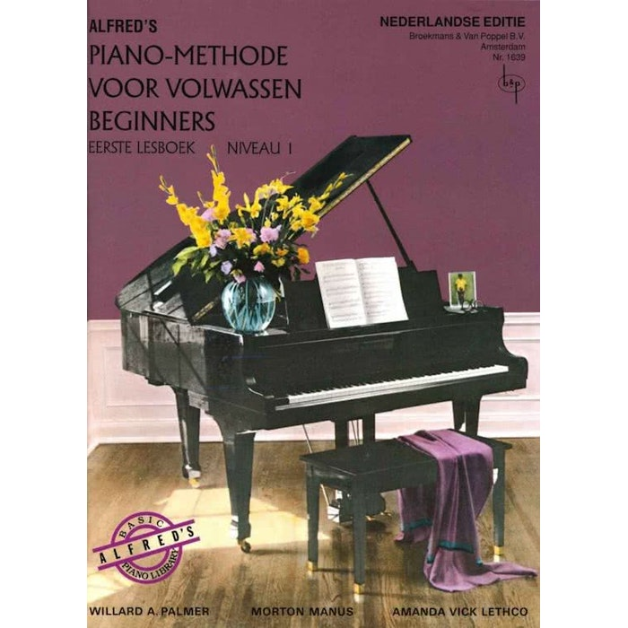 Alfred's Pianomethode Volwassen beginners Niveau 1