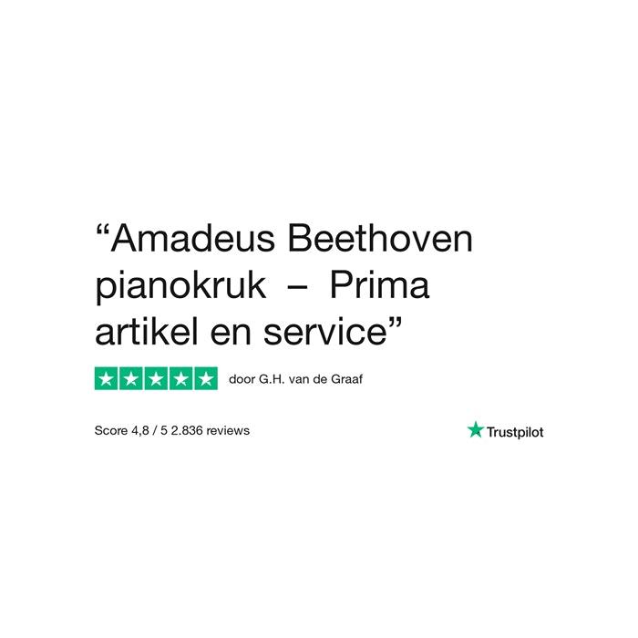 Amadeus Beethovenbank Klassiek PE (velours zitting)