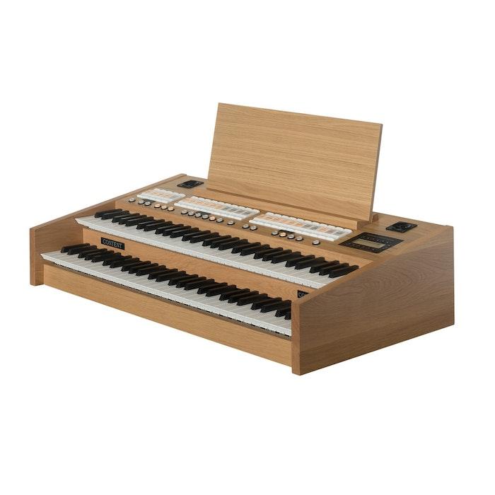 Content Compact 224 Intern blank eiken orgel