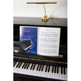 Oostendorp Pianolamp messing (ovalen voet) - B-STOCK
