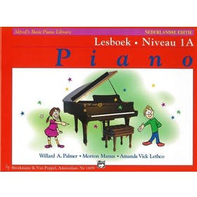 Alfred's Basic Piano Library Lesboek Niveau 1A (+CD)