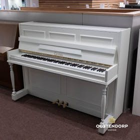 Witte Akoestische Piano Calisia