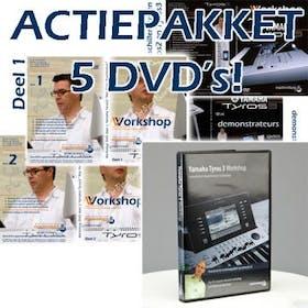Oostendorp Tyros 3 workshop actiepakket - 5 dvd's