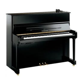 Yamaha P121 SH2 PE messing silent piano (zwart hoogglans)