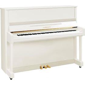 Yamaha B3E PWH messing piano (wit hoogglans)