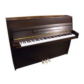 Yamaha B1 OPDW messing piano (donker noten)