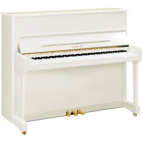 Yamaha P121 M PWH messing piano (wit hoogglans)