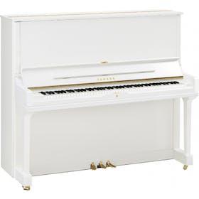 Yamaha YUS3 S PWH messing piano (wit hoogglans)