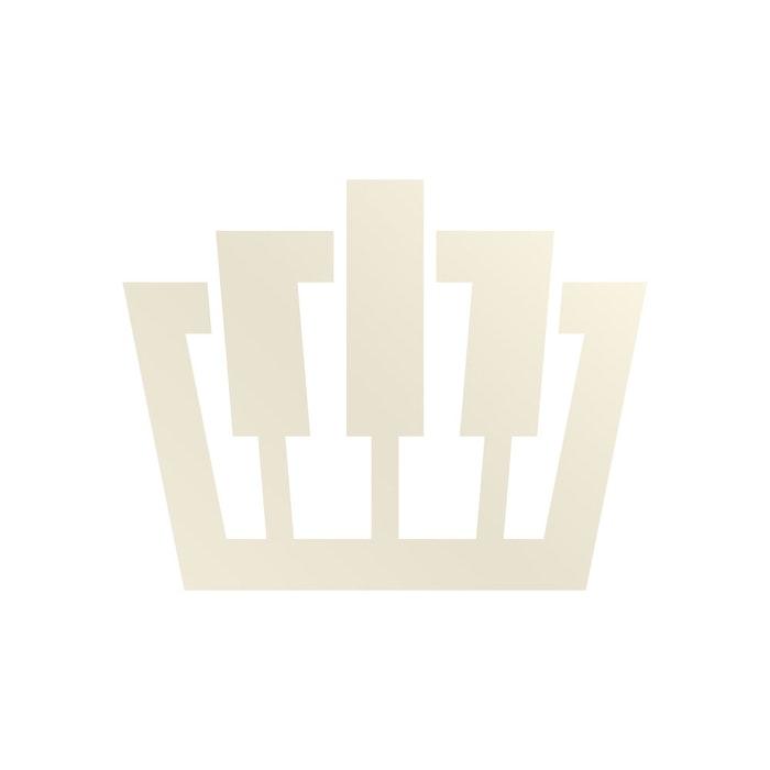 Zilver pianolamp