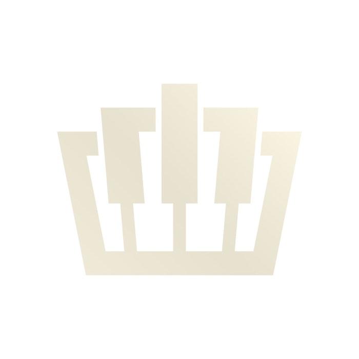 Yamaha B3E OPDW messing piano (donker noten)