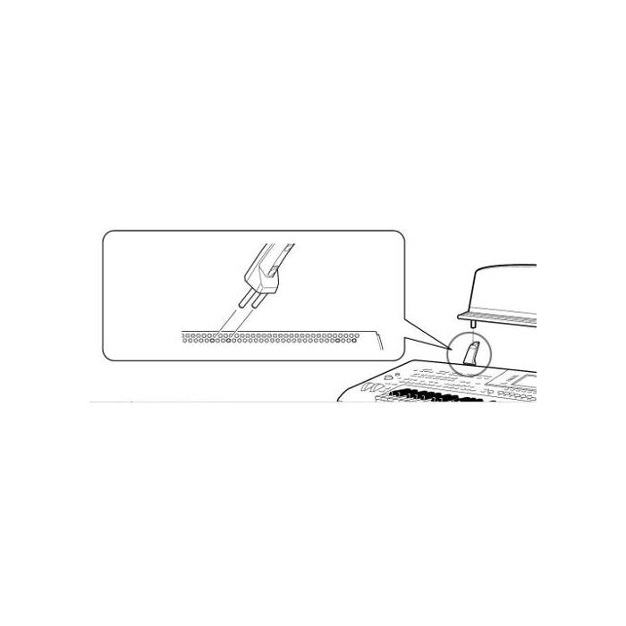Yamaha Mount adapter lessenaar Tyros 2/3/4/5