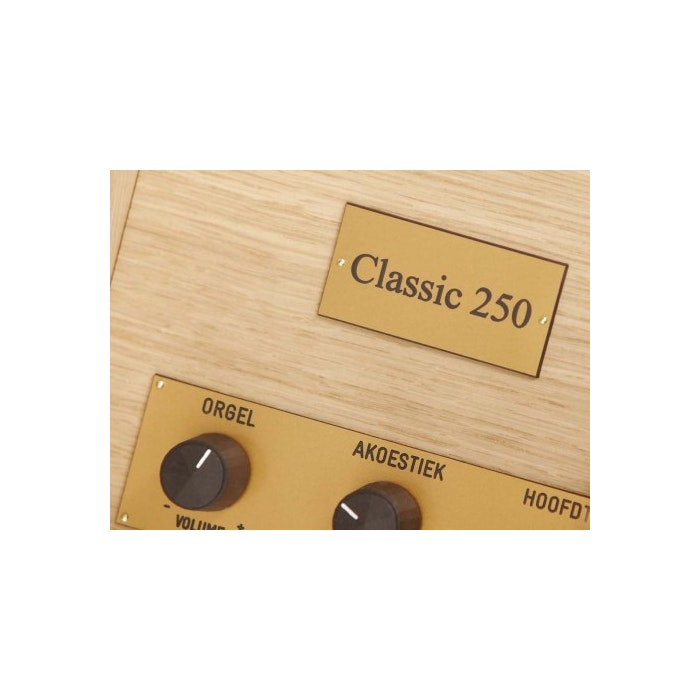 Johannus Classic 250 met LiveReverb blank eiken