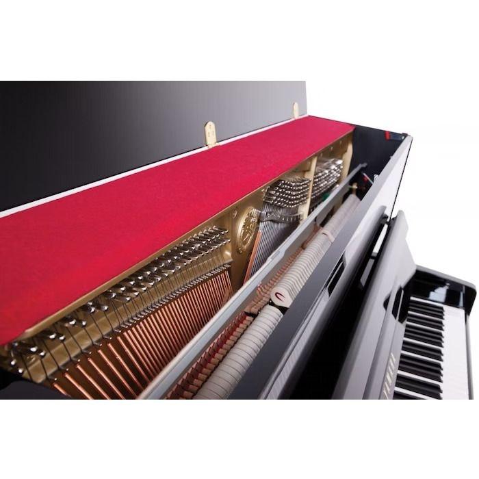 Yamaha B3E PE messing piano (zwart hoogglans)
