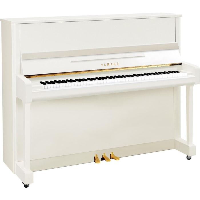 Yamaha B3E PWH messing piano (wit hoogglans)