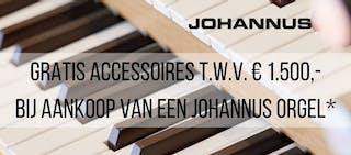 Actie: Johannus orgels